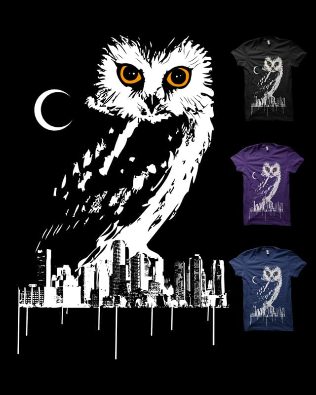 Owl City by nils285 on Threadless