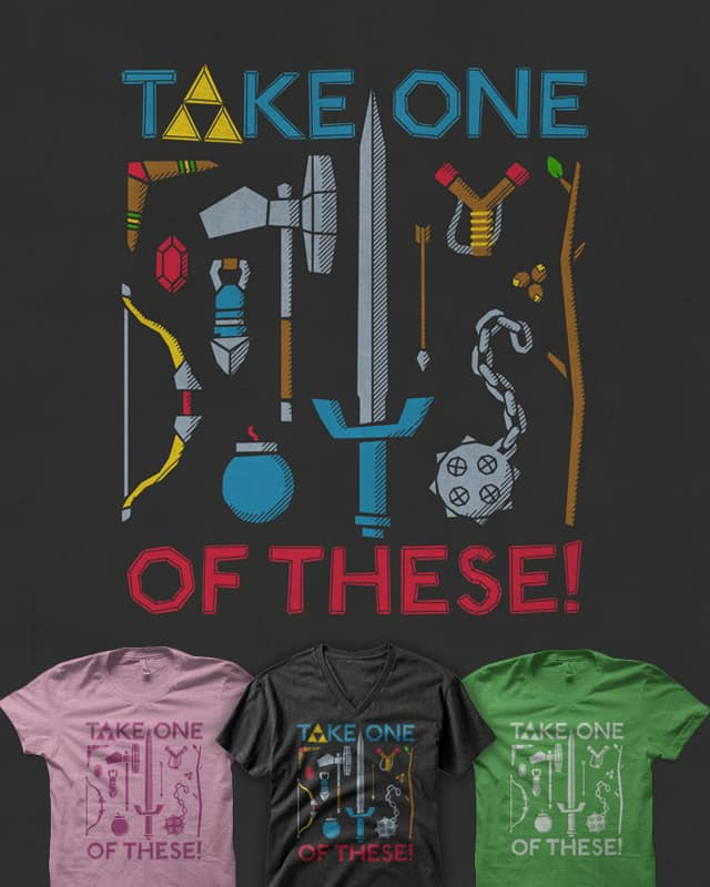 It's Dangerous To Go Alone! by quick-brown-fox on Threadless