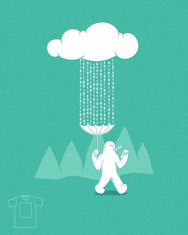 It's a cloudy day by zulandr on Threadless
