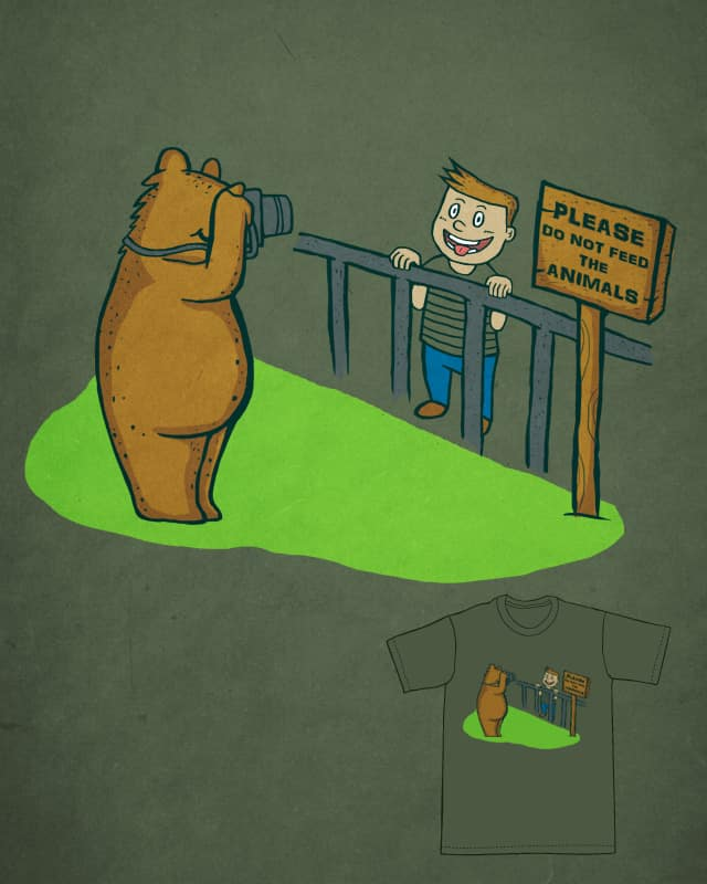 PLEASE DO NOT FEED THE ANIMALS by machi771224 on Threadless