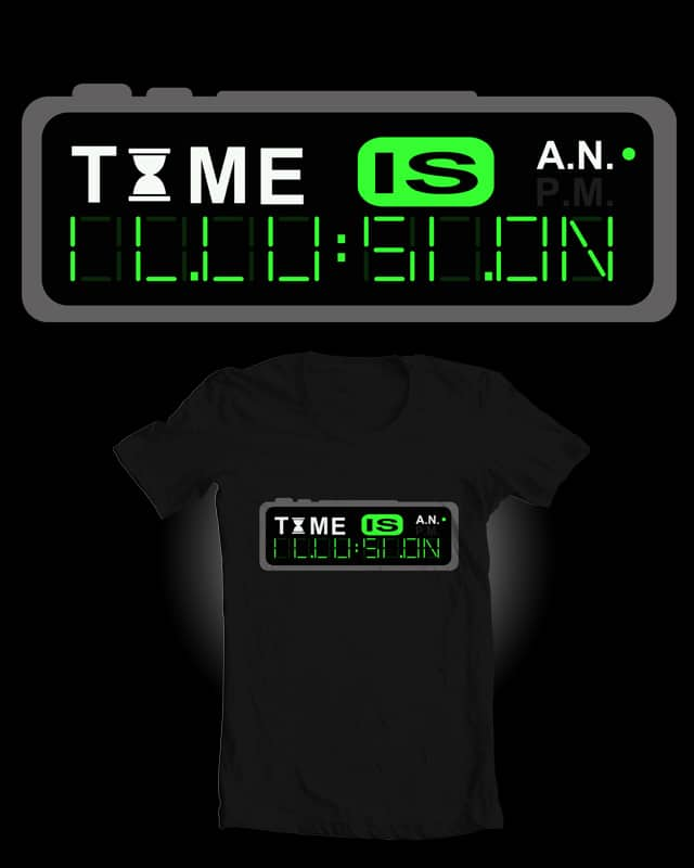 Time Is An Illusion by Evan_Luza on Threadless