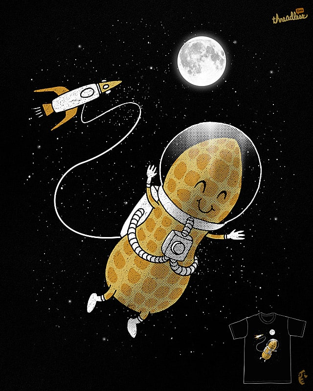 astro'NUT' by dzeri29 on Threadless