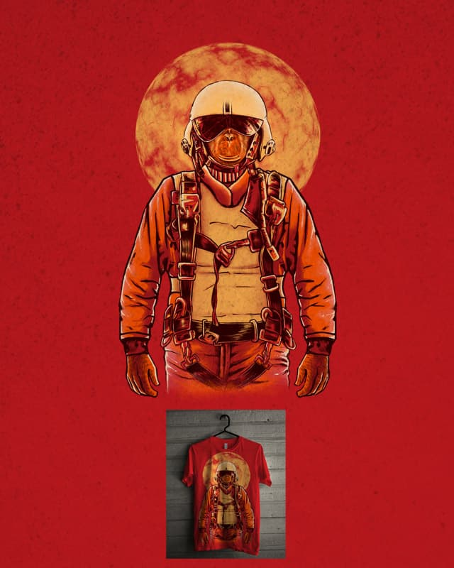 parachutist by barmalisiRTB on Threadless