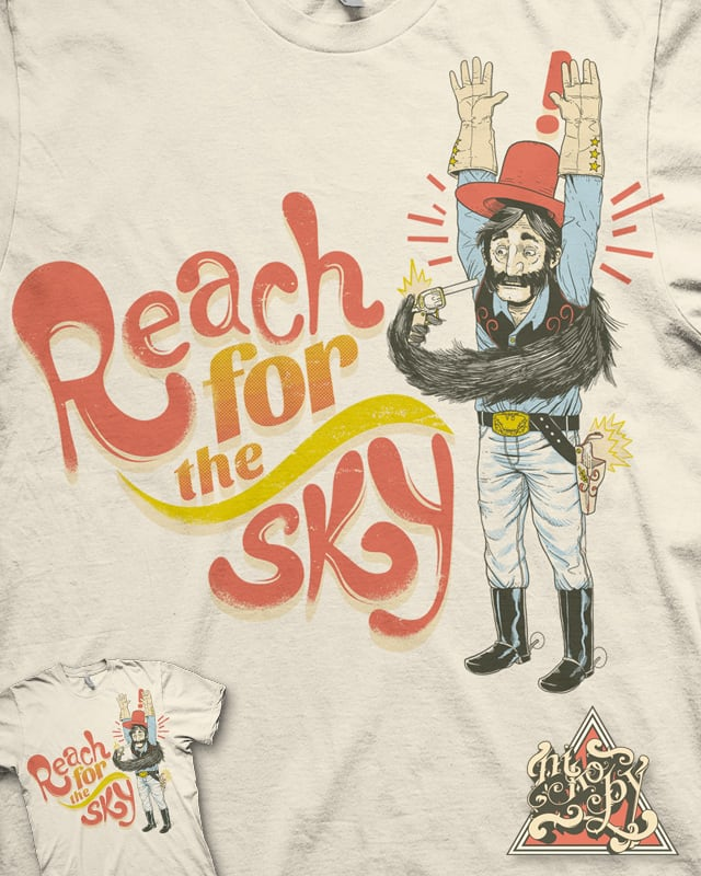 Reach for the Sky by nikoby on Threadless