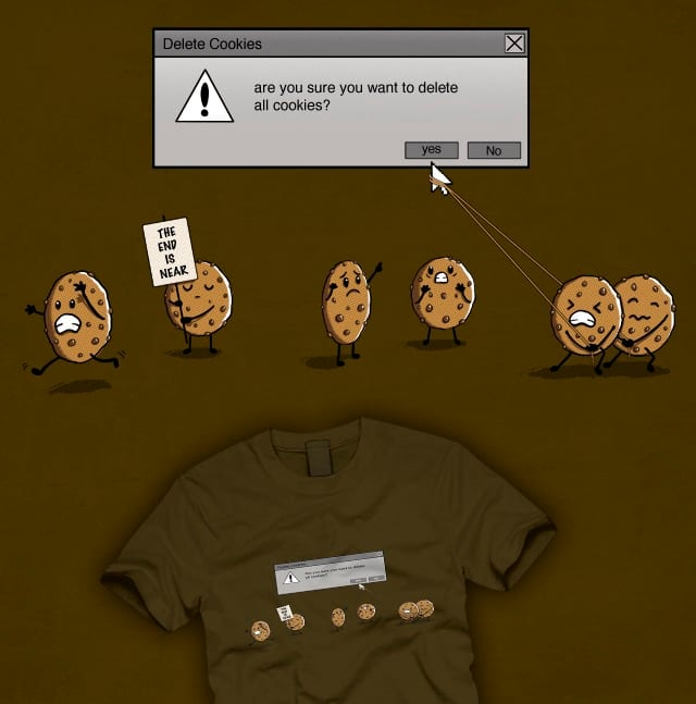 how to delete cookies on xp