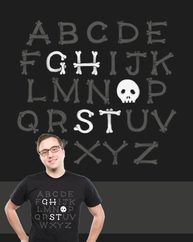 Somethin' strange in your alphabet by mismonaut on Threadless