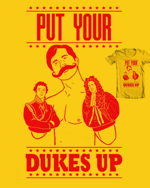 Put your dukes up by Johnny Baboon on Threadless