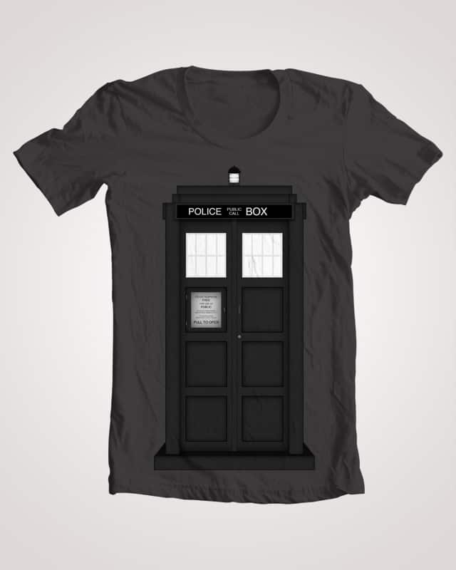 Police Box? by AWOwens on Threadless
