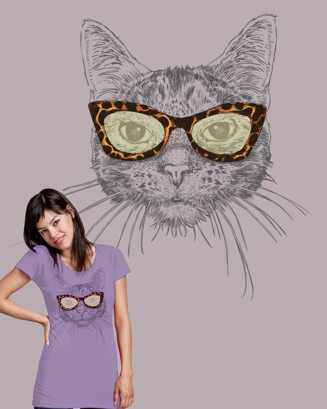 Cat's-Eye Sunglasses by huebucket on Threadless