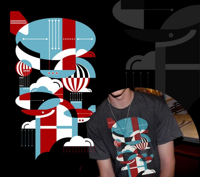 Zeppelins and Balloons by koivo on Threadless