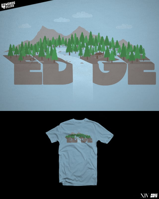 On The Edge by EZFL on Threadless