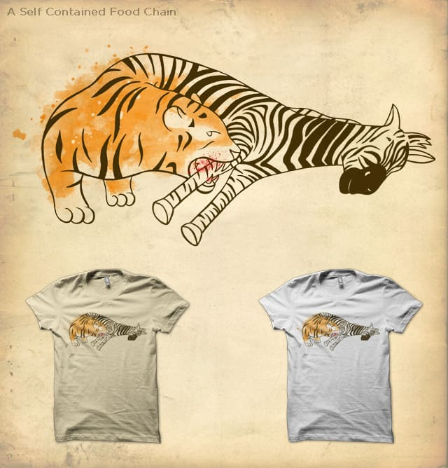 A Self Contained Food Chain by Mosquito88 on Threadless