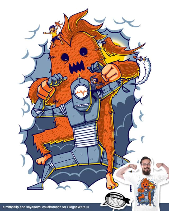 My imaginary friends can beat up your imaginary fr by sayahelmi on Threadless