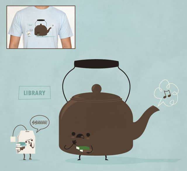 Sshhhhh! by Leroy_Hornblower on Threadless