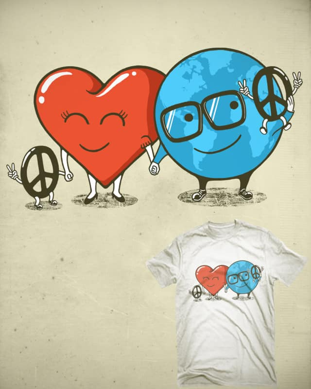 When Love Takes Over by Stereomode on Threadless