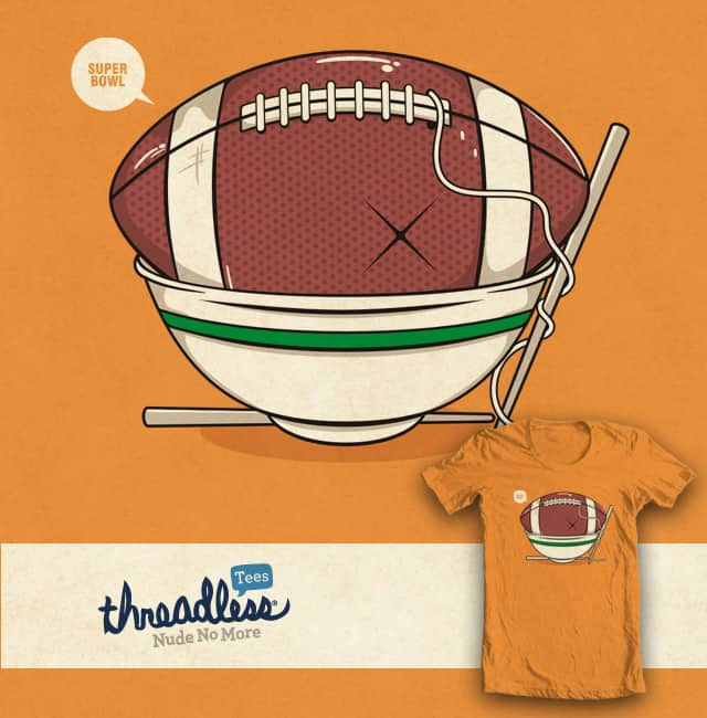 superbowl by netralica on Threadless