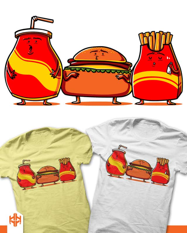FatFood by sayahelmi on Threadless