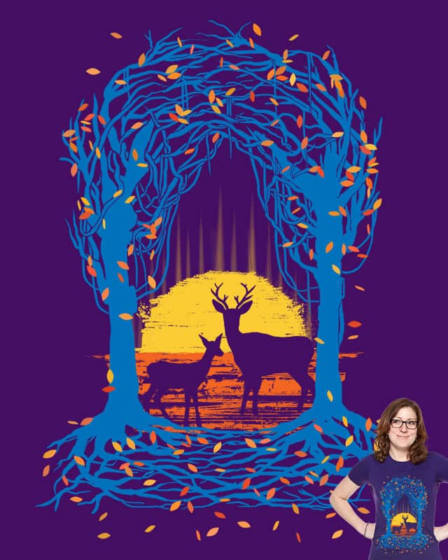 Deer Hunting by ainz_o on Threadless