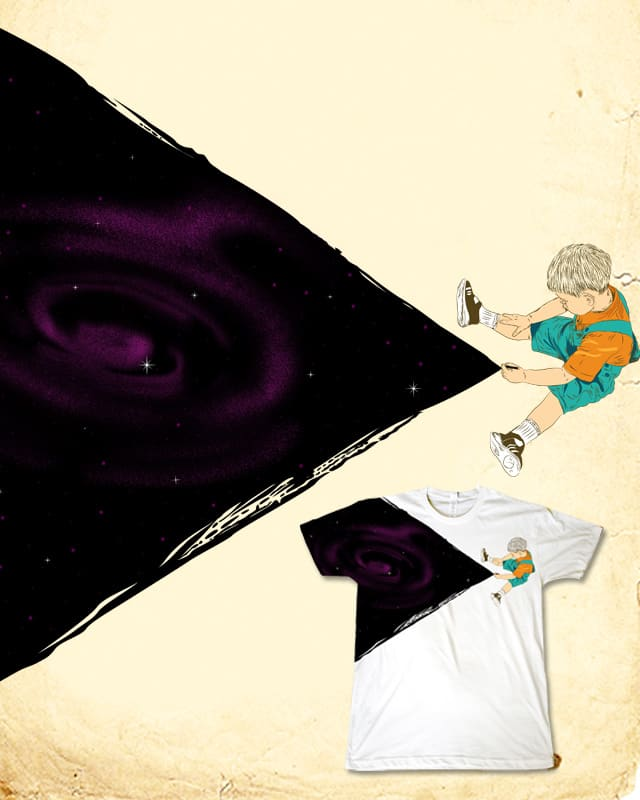 Drawing Galaxy by mainial on Threadless