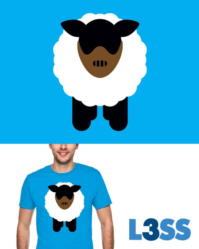 The Silent Lamb by Joe Conde on Threadless