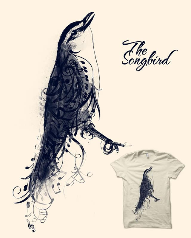 The Songbird by song23 on Threadless