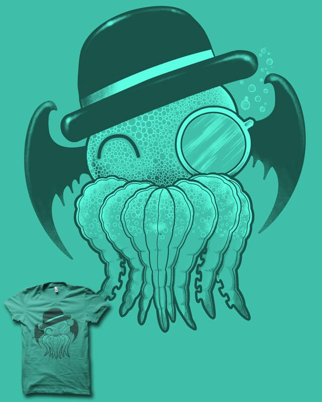 Gentleman Cthulhu by biotwist on Threadless