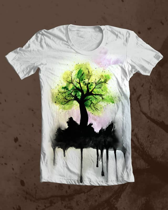 Melting Earth by memxcrunner4 on Threadless