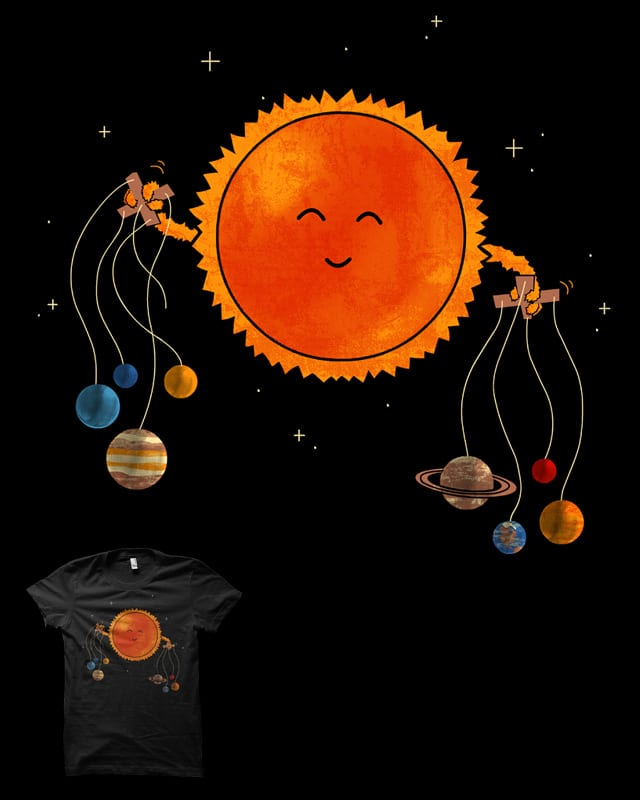 Planetary Puppeteering by biotwist on Threadless