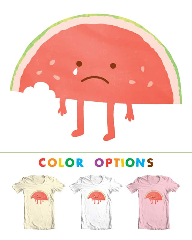 Meloncholy by AlexMacDuff on Threadless