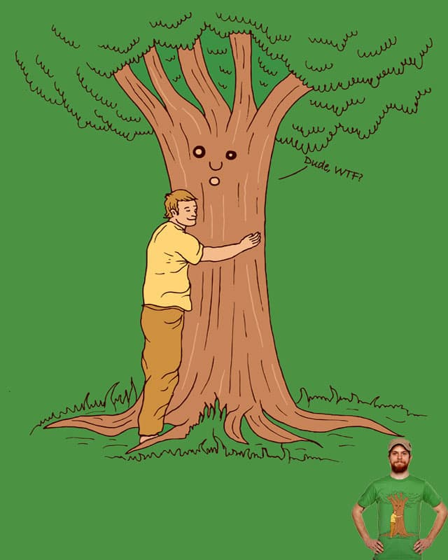 Tree Hugger by ArTrOcItY on Threadless