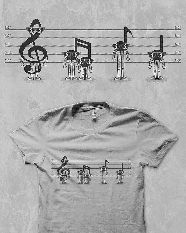 Music is not a crime by Binxent on Threadless