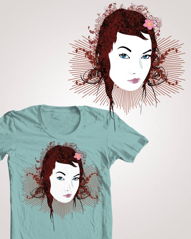 Flower Girl by maximus87 on Threadless