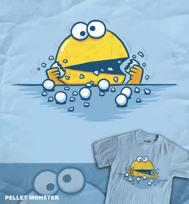 Pellet Monster by WanderingBert on Threadless