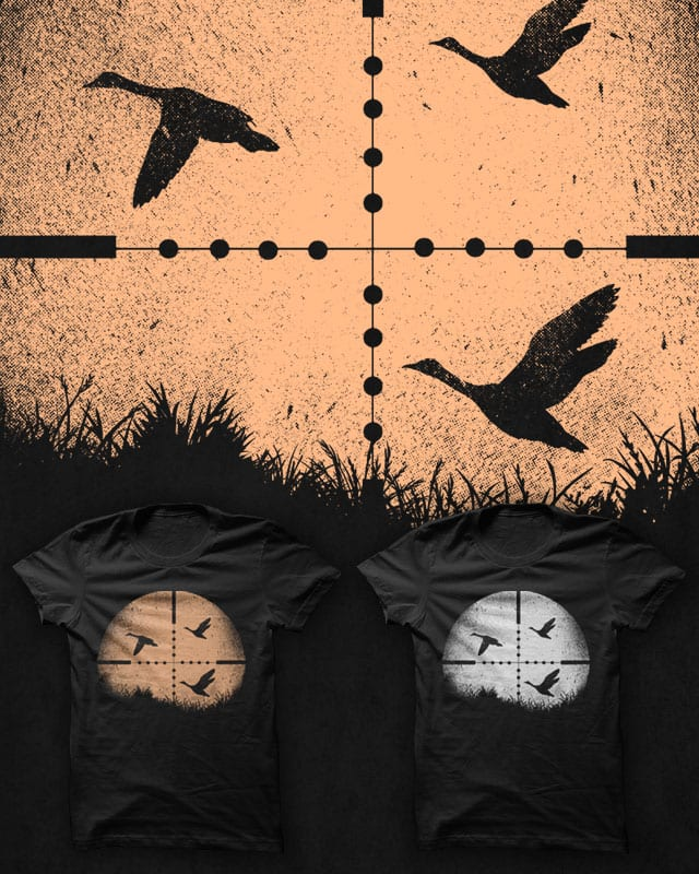 Duck Hunting by ramil21 on Threadless