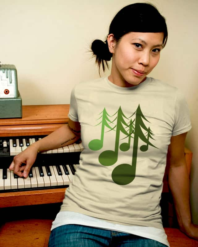 Nature's sound by yanmos on Threadless