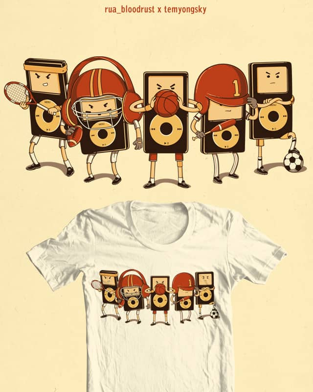 media PLAYERS by temyongsky on Threadless