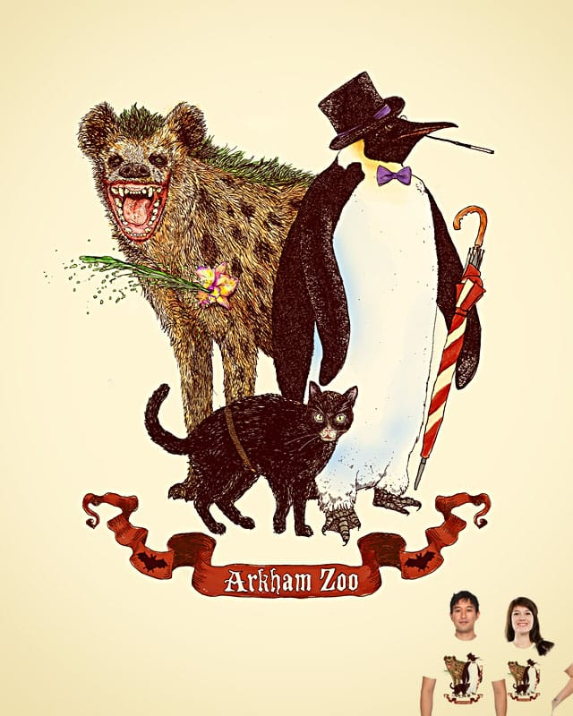 At the Arkham Zoo by sirdiddymus on Threadless