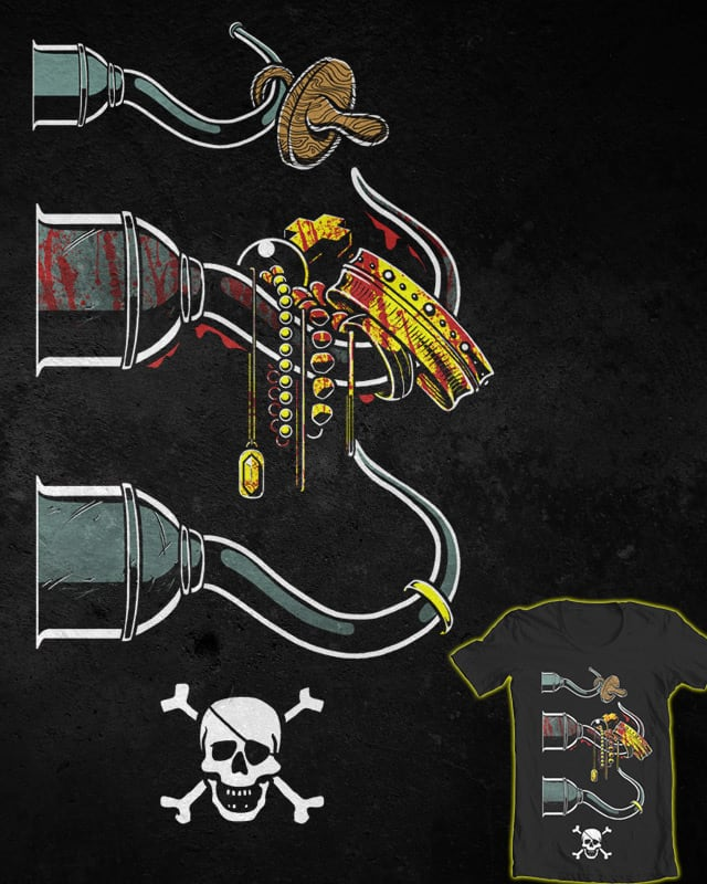 Pirate Career by 110specialblack on Threadless