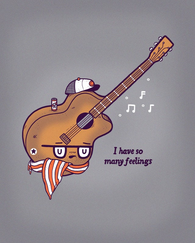 Douche Guitar by randyotter3000 on Threadless