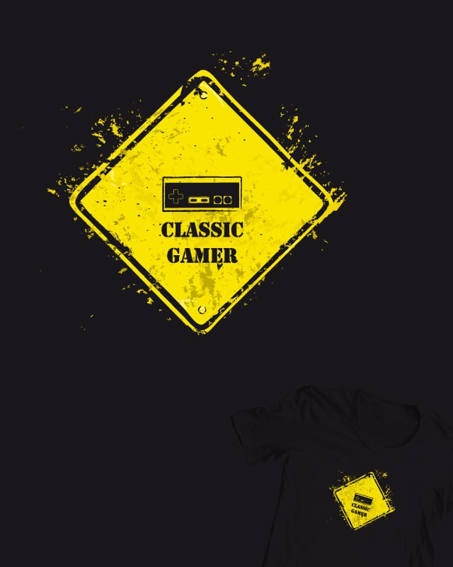 CLASSIC GAMER by DonnieArt on Threadless