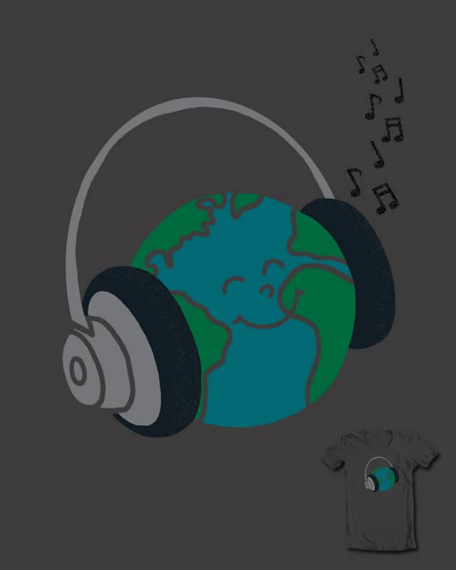I Love World Music by myteemo on Threadless