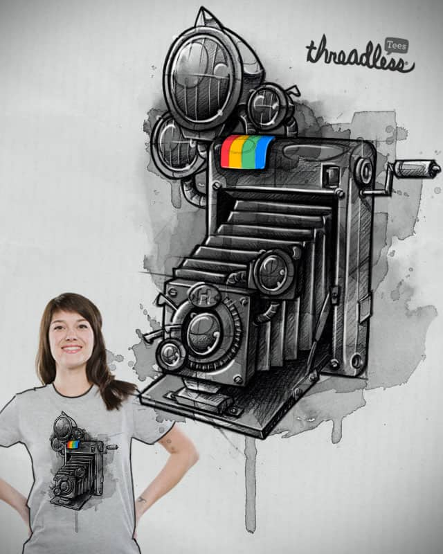 Say cheeeeeeeze! by mcbaldassari on Threadless