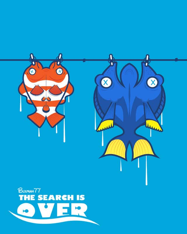 The Search is Over by BLXMAN77 on Threadless
