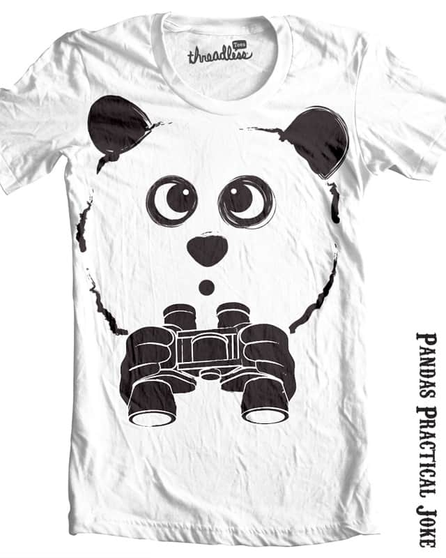 Panda's Practical Joke by emeryg on Threadless