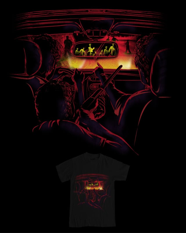 Zombies Ahead by dandingeroz on Threadless