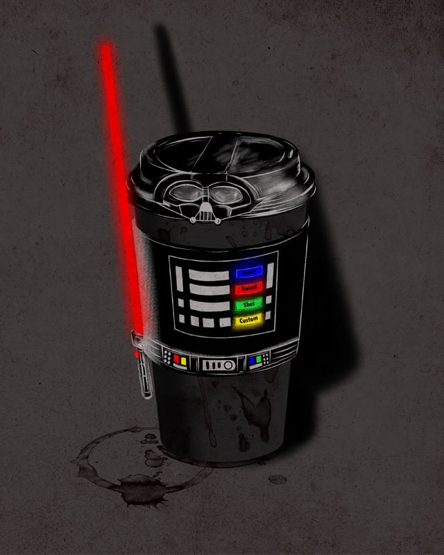 Dark Coffee by soloyo on Threadless