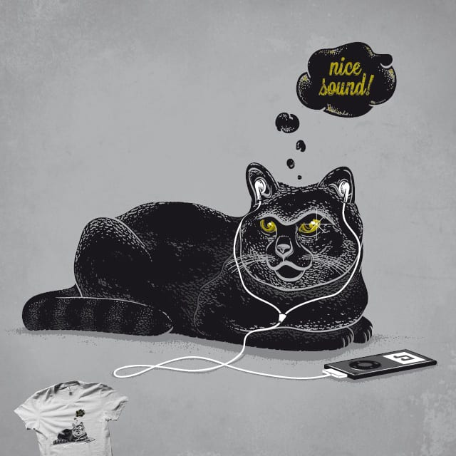 Chilling Cat by Robert_Richter on Threadless