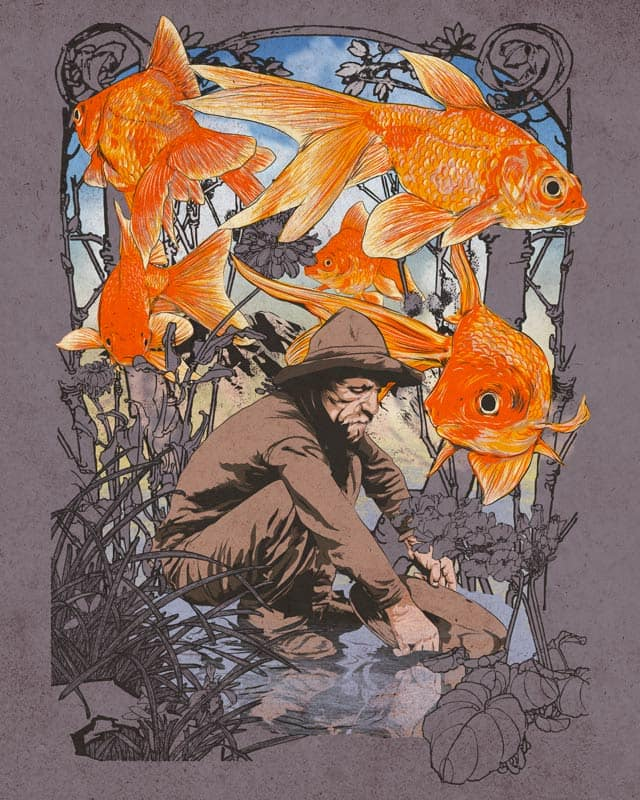 Gold Fish by kooky love on Threadless