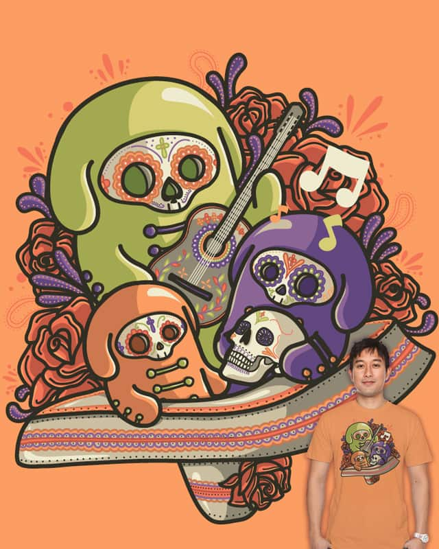 Dia de los Muertos by Recycledwax on Threadless