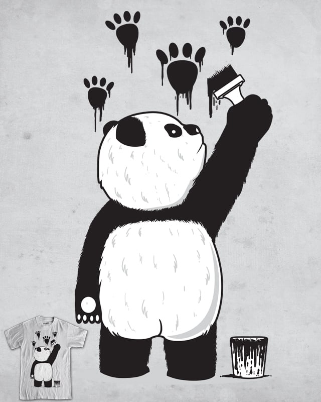 Pandalism by fathi on Threadless